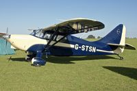 G-STSN @ EGBK - Attended the 2013 Light Aircraft Association Rally at Sywell in the UK - by Terry Fletcher