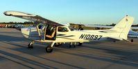 N10897 @ KFAR - Cessna 172S Skyhawk I display at the 4th Annual Fargo Jet Center Movie Night. - by Kreg Anderson