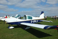 G-BHLX @ EGBK - at the LAA Rally 2013, Sywell - by Chris Hall