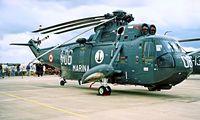 MM5008N @ EGDY - Agusta SH-3H Sea King [6005] (Italian Navy) RNAS Yeovilton~G 15/07/1995