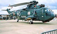 MM5015N @ EGDY - Agusta SH-3H Sea King [6012] (Italian Navy) RNAS Yeovilton~G 15/07/1995