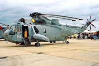 XV706 @ EGDY - Westland WS.61 HAS.6 Sea King [WA677] (Royal Navy) RNAS Yeovilton~G 15/07/1995