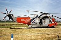 ZA167 @ EGVA - Westland WS.61 HU.5 SAR Sea King [WA900] (Royal Navy) RAF Fairford~G 19/07/1997