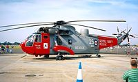 ZA167 @ EGVA - Westland WS.61 HU.5 SAR Sea King [WA900] (Royal Navy) RAF Fairford~G 21/07/1996