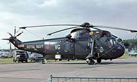 ZA297 @ EGVI - Westland WS.61 HC.4 Sea King [WA911] (Royal Navy) RAF Greenham Common~G 27/06/1981. Image taken from a slide.