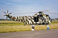 ZD477 @ EGVA - Westland WS.61 HC.4 Sea King [WA932] (Royal Navy) RAF Fairford~G 19/07/1997