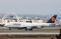 D-ABVE @ KLAX - Boeing 747-400 - by Mark Pasqualino