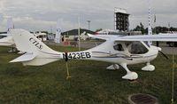 N423EB @ KOSH - Airventure 2013
