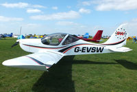 G-EVSW @ EGBK - at the LAA Rally 2013, Sywell - by Chris Hall