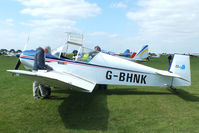 G-BHNK @ EGBK - at the LAA Rally 2013, Sywell - by Chris Hall
