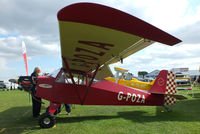 G-POZA @ EGBK - at the LAA Rally 2013, Sywell - by Chris Hall