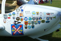 G-PTAG @ EGBK - a well traveled Europa at the LAA Rally 2013, Sywell - by Chris Hall