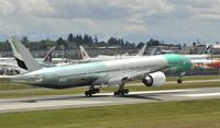 A6-ENK @ KPAE - Landing at Paine Field - by Todd Royer