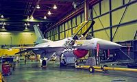 120 @ LGTG - General Dynamics F-16C Fighting Falcon [2Y-11] (Greek Air Force) Tanagra~SX 02/04/1998 - by Ray Barber