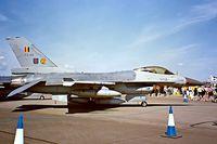 FA-99 @ EGVA - General Dynamics F-16A Fighting Falcon [6H-99] (Belgian Air Force) RAF Fairford~G 19/07/1997
