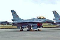 FA-130 @ EGDY - General Dynamics F-16A Fighting Falcon [6H-130] (Belgian Air Force) RNAS Yeovilton~G 15/07/1995