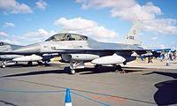 J-068 @ EGVA - General Dynamics F-16B Fighting Falcon [6E-37] (Royal Netherlands Air Force) RAF Fairford~G 22/07/1995