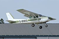 G-BNKS @ EGBK - 1979 Cessna 152, c/n: 152-83186 at Sywell - by Terry Fletcher