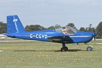 G-CGVD @ EGBK - Vans RV-12, c/n: LAA 363-15005 at Sywell - by Terry Fletcher