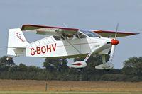 G-BOHV @ EGBK - 1990 Wittman W-8 Tailwind, c/n: PFA 031-11151 at Sywell