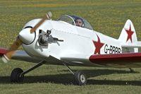 G-BBBB @ EGBK - 1973 Taylor Monoplane, c/n: SAM/01/PFA 1422 at Sywell
