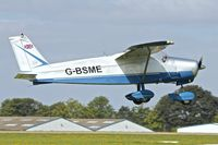 G-BSME @ EGBK - 1966 Bolkow BO-208C Junior, c/n: 596 at Sywell - by Terry Fletcher