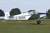 G-BHNK @ EGBK - 1956 Jodel (Wassmer) D-120A, c/n: 243 at Sywell