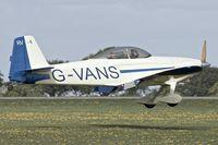 G-VANS @ EGBK - 1987 Vans RV-4, c/n: 355