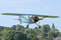 G-MOSA @ EGBK - 1952 Morane-Saulnier MS.317, c/n: 351 at Sywell