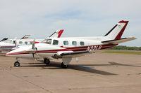 N33LB @ KDLH - KDLH/DLH 2013 Duke owners fly in
