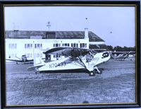 N70433 - Alan Long in his Piper CJ at the Raleigh Muni Airport cira: about 1961 - by unknown