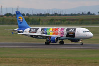 OO-TCH @ VIE - Thomas Cook Belgium Airlines Airbus A320
