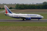 EI-EUX @ VIE - Transaero Airlines Boeing 737-700