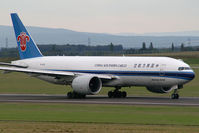 B-2075 @ VIE - China Southern Cargo Boeing 777-200