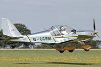 G-CCEM @ EGBK - 2003 Aerotechnik EV-97A Eurostar, c/n: PFA 315-13987