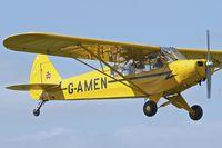 G-AMEN @ EGBK - 1952 Piper L-18C Super Cub, c/n: 18-1998