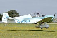 G-AYGD @ EGBK - 1963 CEA Jodel DR1050 Sicile, c/n: 515