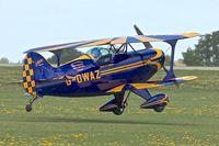 G-OWAZ @ EGBK - Pitts S-1C Special, c/n: 43JM