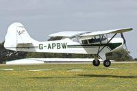 G-APBW @ EGBK - 1957 Auster 5A, c/n: 3405