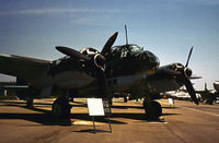 430650 @ FFO - Junkers Ju-88D as displayed at the USAF Museum in May 1973. - by Peter Nicholson