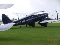 G-AKIF - taken at Sywell Airfield 21/09/2013 - by Hans