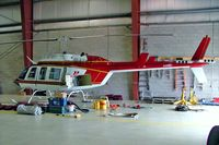 C-FLTX @ CYRP - Bell 206L Long Ranger [45043] (Heli-Transport) Ottawa-Carp~C 19/06/2005