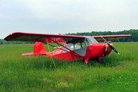 C-FOTP @ CNJ4 - Aeronca 7AC Champion [7AC-1326] Orillia~C 21/06/2005 - by Ray Barber