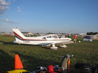 C-GXDH @ KOSH - Arriving into the campgrounds - by steveowen