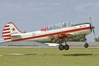 G-YAKV @ EGBK - 1991 Aerostar YAK-52, c/n: 9111311