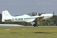 G-RJAM @ EGBK - Frati F-8L Falco, c/n: PFA 100-11665