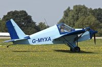 G-MYXA @ EGBK - 1995 Team Minimax 91, c/n: PFA 186-12266
