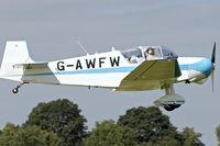 G-AWFW @ EGBK - 1963 Jodel D-117, c/n: 599