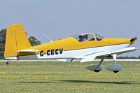 G-CECV @ EGBK - 2006 Vans RV-7, c/n: PFA 323-14338