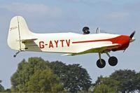 G-AYTV @ EGBK - 1971 Jurca MJ-2D Tempete, c/n: PFA 2002